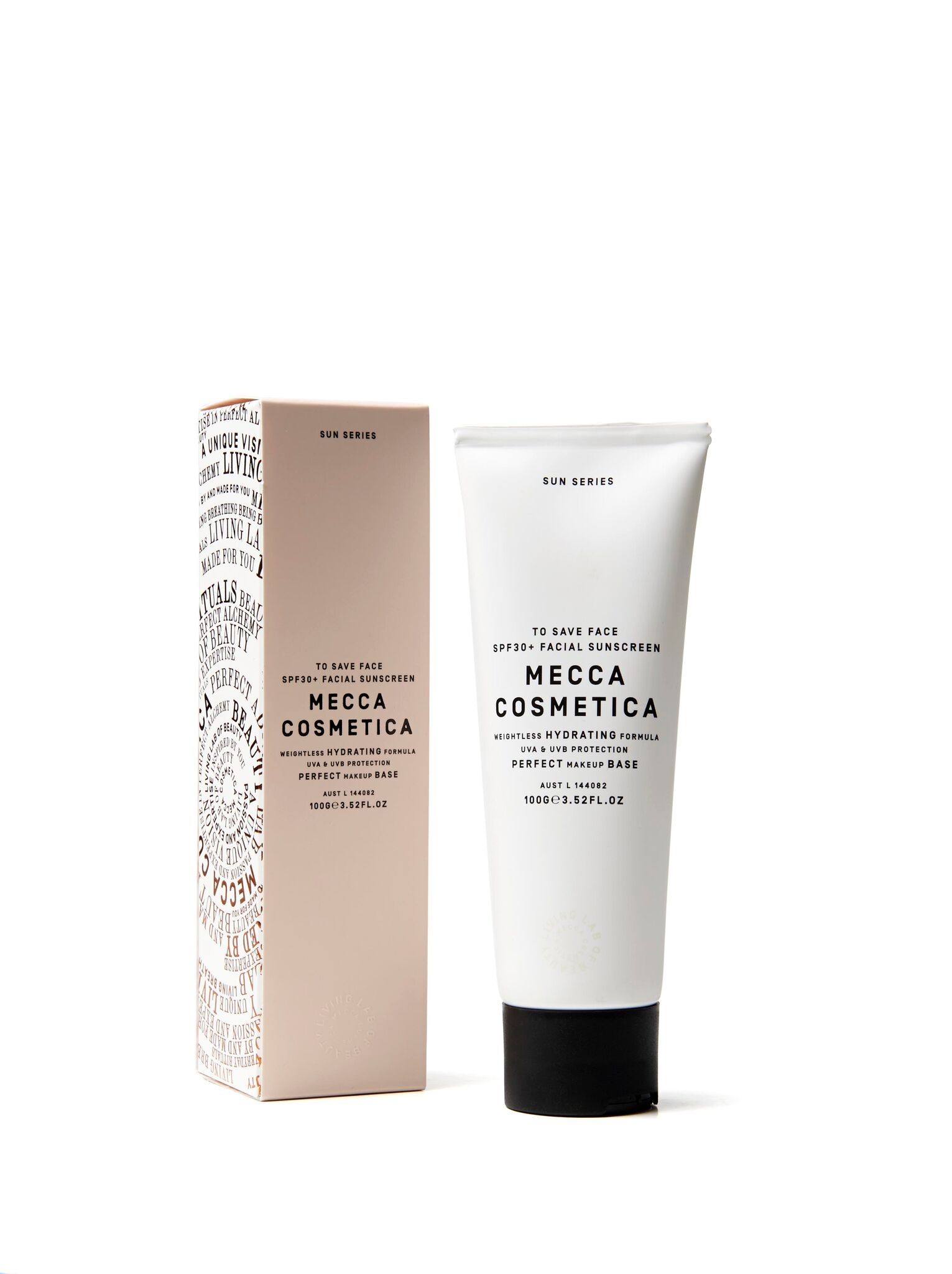 Mecca Cosmetica To Save Face SPF30+ Facial Sunscreen (Packaging)