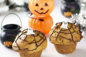 Spooky Spider Web Muffin