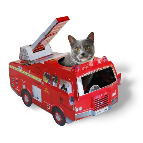 Cat Playhouse | Fire Engine