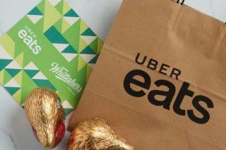 Uber Eats x Whittakers Easter Egg Hunt