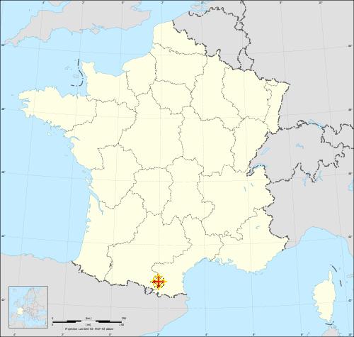 La croix occitane situe le Fenouillèdes.