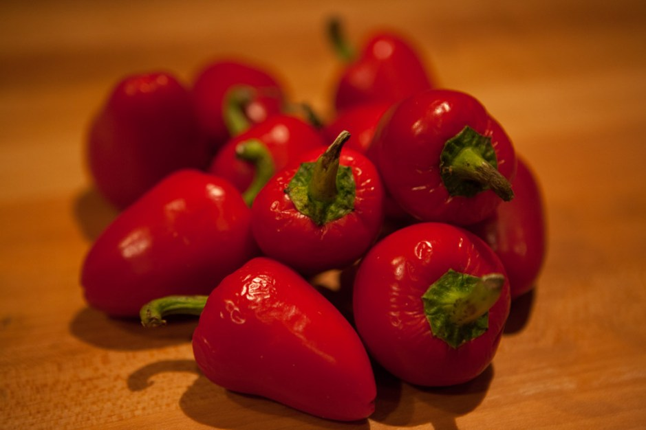 Firecracker hot peppers