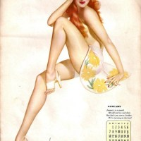 Vargas Pin-up Girl [Esquire] c.1945
