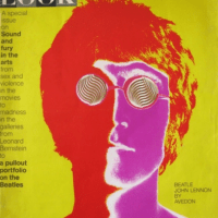 Beatles 'John Lennon' Photos by Richard Avedon 1968 Look Mag