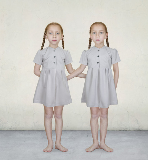 Sasha and Ruby by Loretta Lux