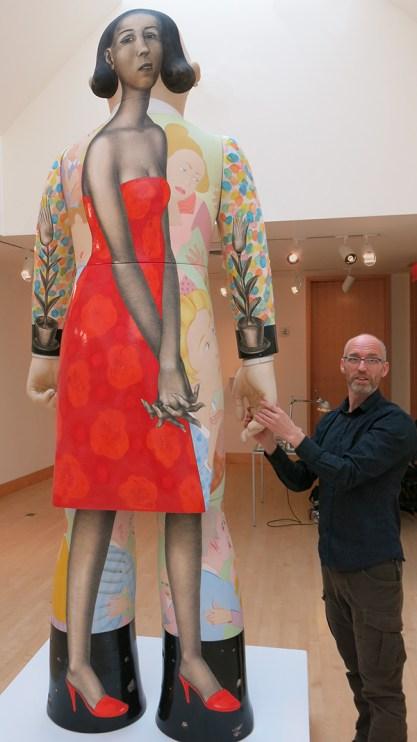 S Isupov holding hand red dress IMG_3323LW