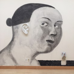 """Sergei Isupov, """"To Listen with Half and Ear"""", 2003, vitreous china, 6 x 23 x 16""""."""