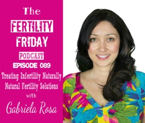 FFP 089 | Treating Infertility Naturally | Natural Fertility Solutions | Functional Medicine | Getting to the Root Cause | Gabriela Rosa