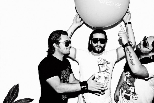 Swedisch House Mafia Group Shoot 2009