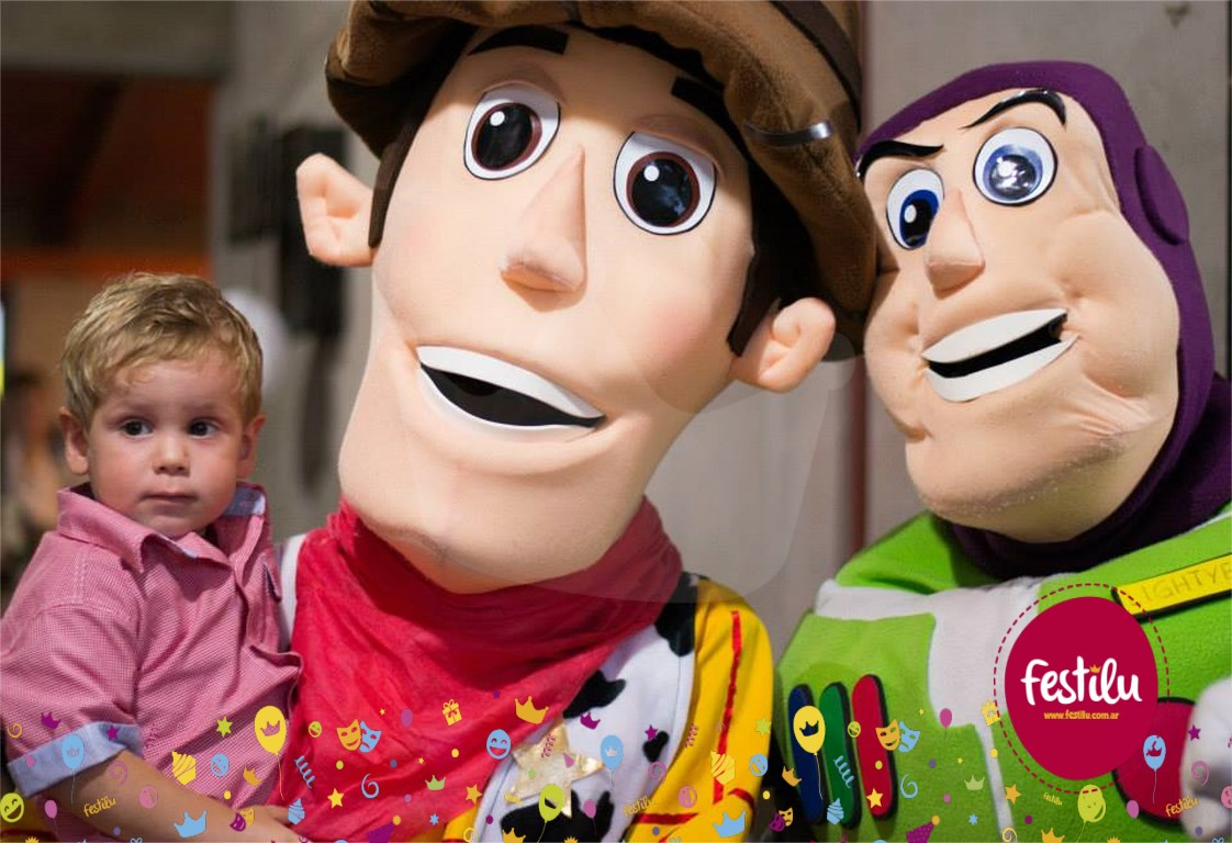Cumple temático de Toy Story