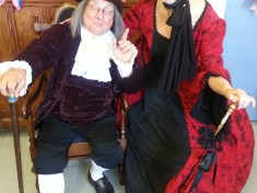 Dickens Day Holiday Celebration Ben Franklin Image