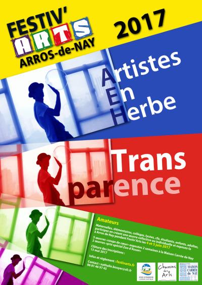 Candidature artistes en herbe Festiv'arts 2017