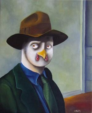 Portrait de Coq Hopper