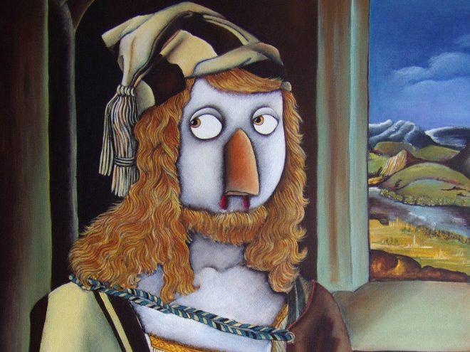 Acrylique sur toile, (50*61cm) (2015)
