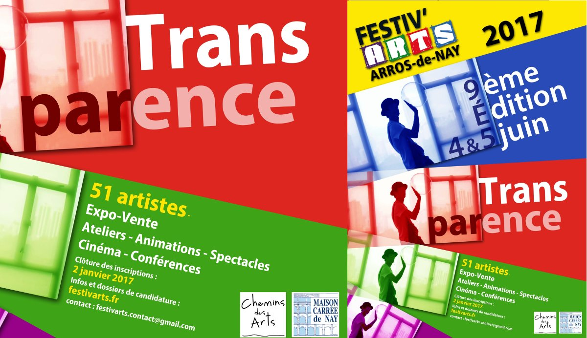 "Festiv'arts Arros-de-Nay 2017 ""Transparences"""
