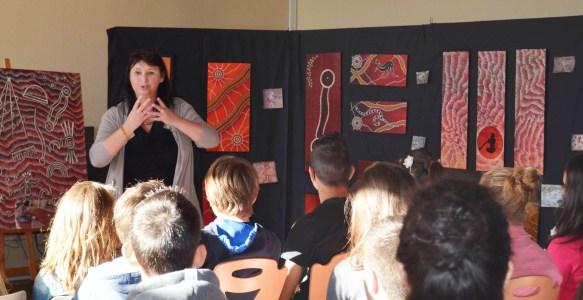 Intervention collège Pontacq 2014-Mireille Mathieu-Grassl