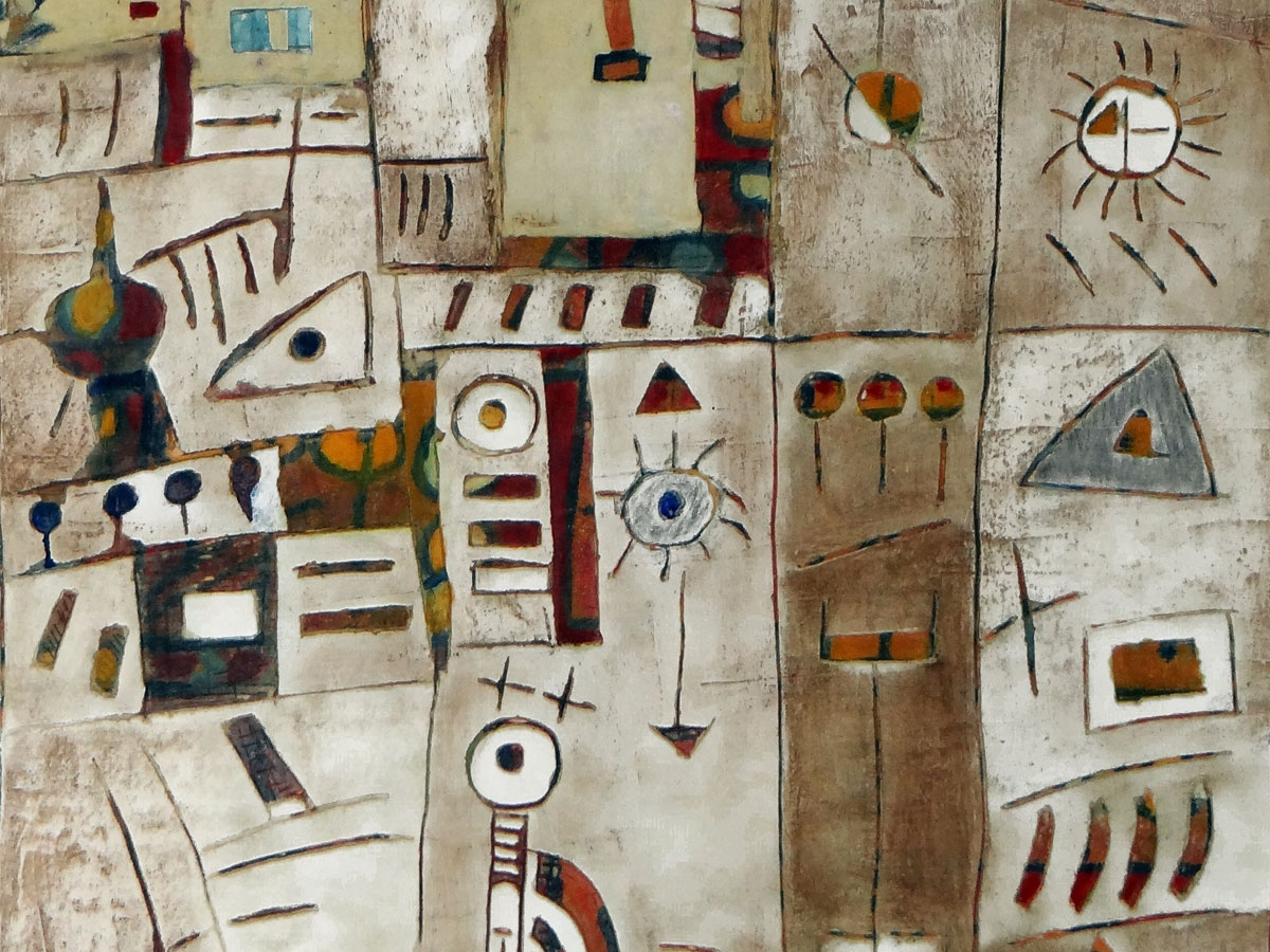 Sans titre (2) - Enduits pigments (60x81cm) (2014)