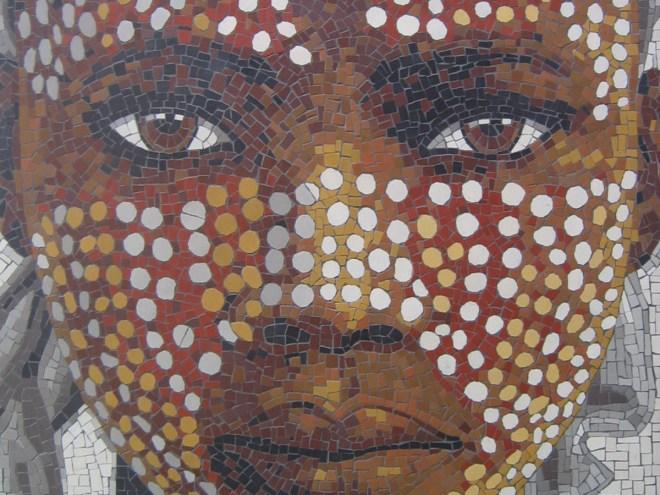 JEUNE AFRICAIN - Mosaïque (60*75cm) (2014)