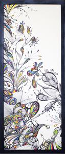 PARADYS 1 - Stylo Feutre (70x30cm) 2017