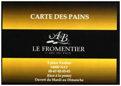 Le Fromentier