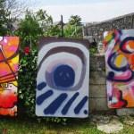 les oeuvres exposées à Festiv'Arts sur le parcours Artistes en herbe