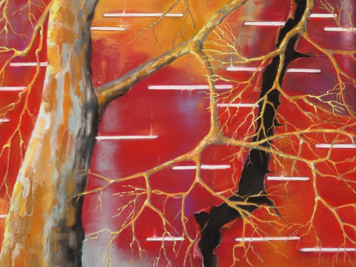 DÉCHIRURE - Pastels Secs (60*44cm) (2016)