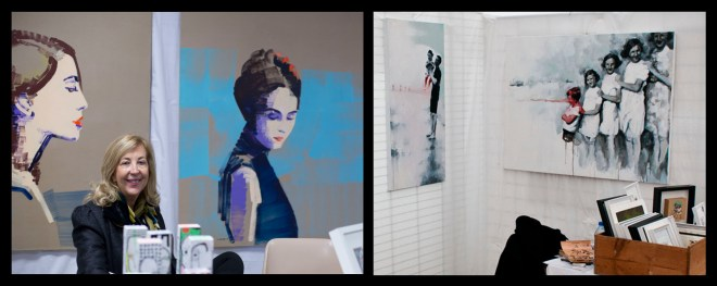 2017-Festiv'arts-La Galerie Cristina Marin de Saragosse choisit la peintre Lunat
