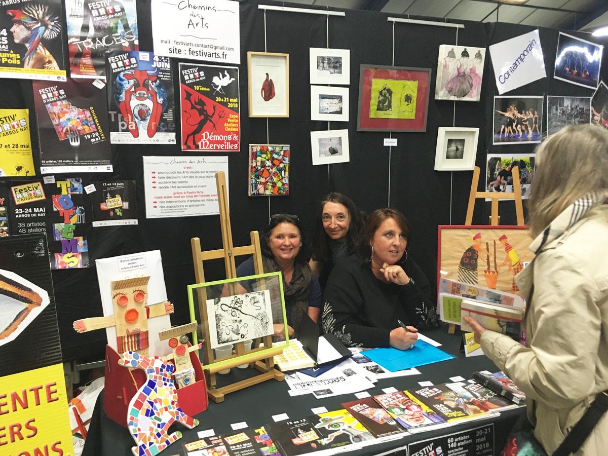 Forum des association de Nay le 9 septembre : l'organisation de la 10ème édition de Festiv'Arts démarre