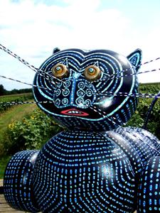 BluecatZ - Recyclage bouteille de gaz (80x100x50cm) 2017
