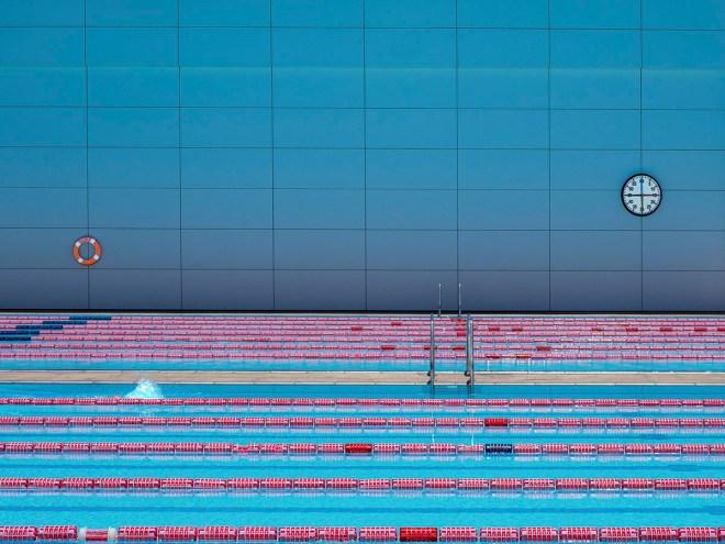 LE NAGEUR - Photographie numérique (30x30) 2017