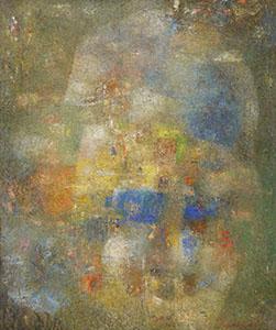 Sans titre - Huile sur toile (100x80cm) 2018