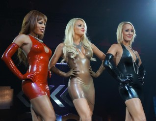 skin-tight-latex-dresses-in-red-black-transparent-from-fetisso-latex-clothing
