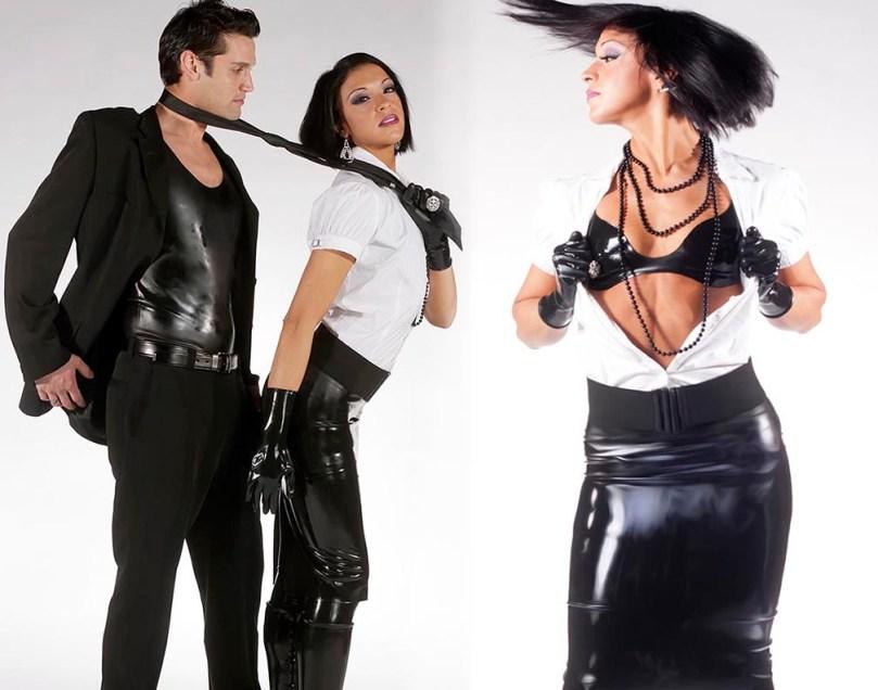 black-rubber-pencil-skirt-bra-from-fetisso