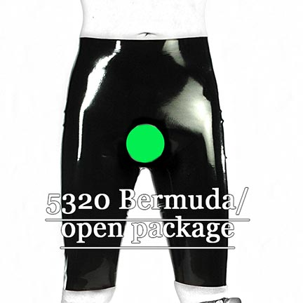 mens,fetisso,favorites,latex,shorts,long,open-package, black