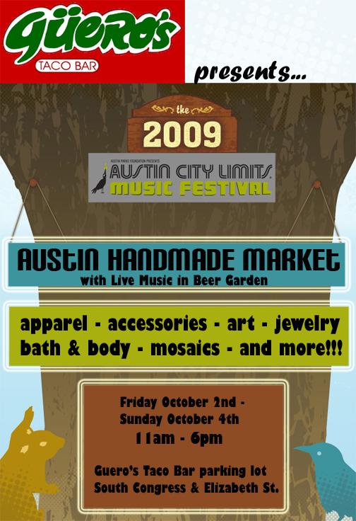 Austin Handmade Market at Guero's