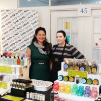 Winter Holiday Art Market 2014 - Lisa & Tiffany