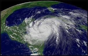 taifu4 【画像】台風を上空から見たら想像以上にビビる件!台風の驚異!台風の目