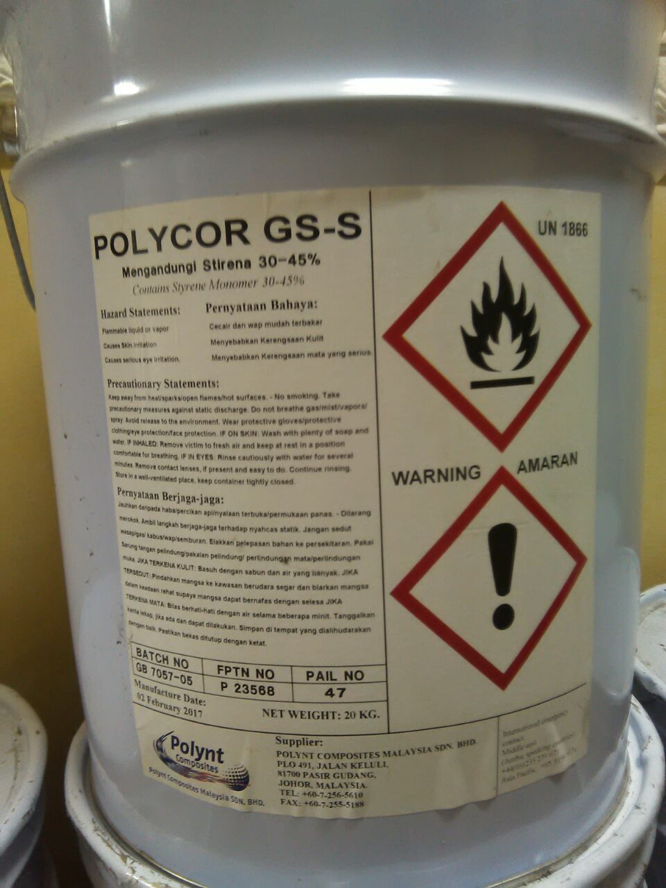 Gelcoat Isopthalic for Spray Application