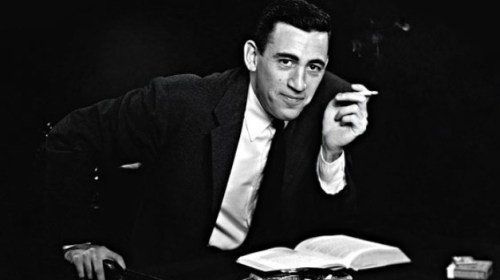 This is what an actual J.D. Salinger publicity photo looks like.