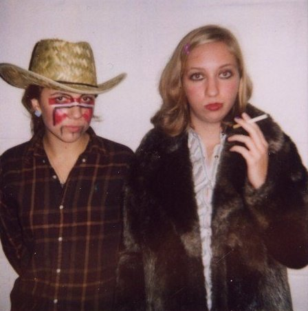 Fig. B2: The author as Margot Tenenbaum for Halloween in 2007
