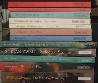 Zweig books (photo by Lizzy Siddal)