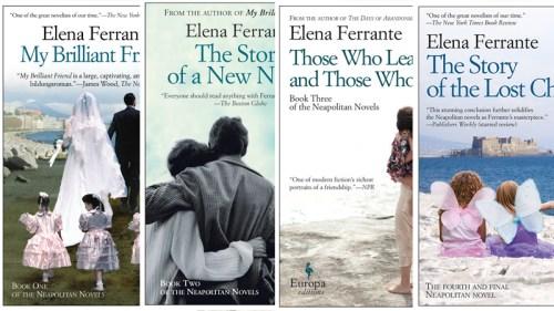 Elena Ferrante novels