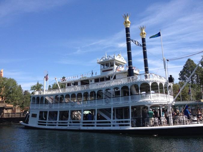 Mark Twain's riverboat