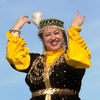 Central Asian Dancer