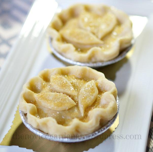 Brown Sugar Mini Apple Pies