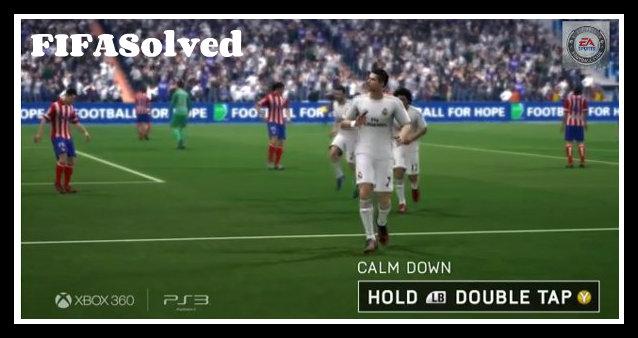 Cristiano Ronaldo Calm Down Celebration