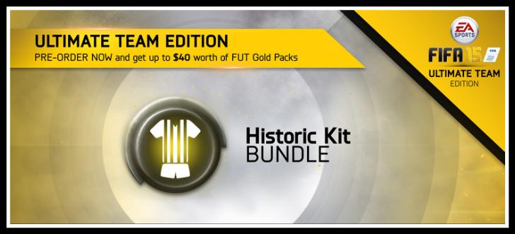 FUT 15 Historic Kits