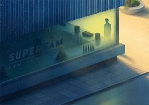 Supersam by Marcin Wolski