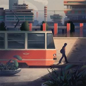 Tram by Marcin Wolski