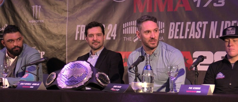 BAMMA 28 / Bellator 173 Press Conference in the SSE Arena